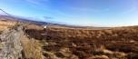 Enjoying some spongey but rugged moorland!